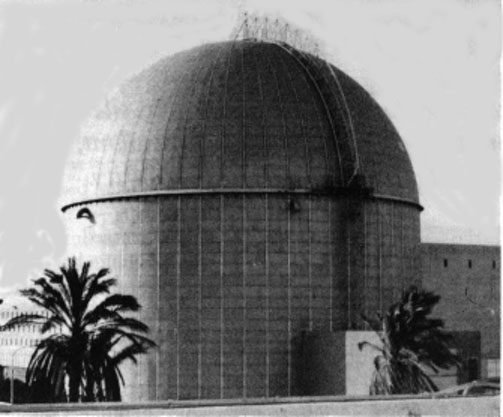 Photo: The Dimona Reactor Dome Credit: Mordechai Vanunu